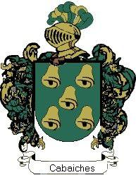 Escudo del apellido Cabaiches