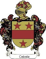 Escudo del apellido Cabale