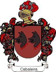 Escudo del apellido Cabaleira