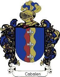 Escudo del apellido Cabalen