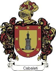 Escudo del apellido Cabaleti