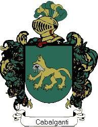 Escudo del apellido Cabalganti