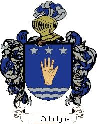 Escudo del apellido Cabalgas