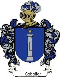 Escudo del apellido Caballar