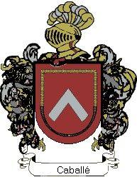 Escudo del apellido Caballé