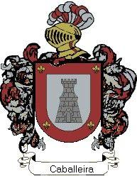 Escudo del apellido Caballeira