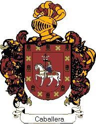 Escudo del apellido Caballera