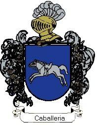 Escudo del apellido Caballeria