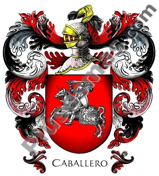 Escudo del apellido Caballero