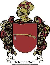 Escudo del apellido Caballero de manzanedo