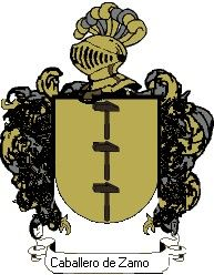 Escudo del apellido Caballero de zamora