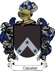Escudo del apellido Caballet