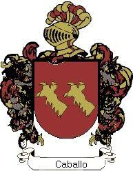 Escudo del apellido Caballo