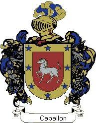 Escudo del apellido Caballón