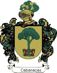 Escudo del apellido Cabanacas