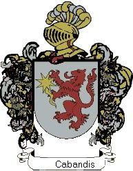 Escudo del apellido Cabandis