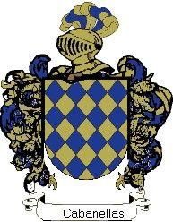 Escudo del apellido Cabanellas
