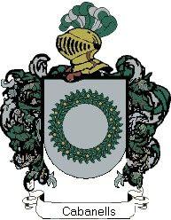 Escudo del apellido Cabanells