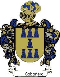 Escudo del apellido Cabañero