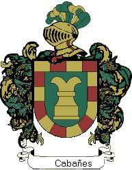 Escudo del apellido Cabañes