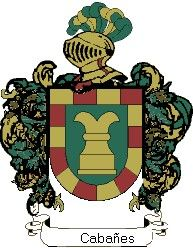 Escudo del apellido Cabanes