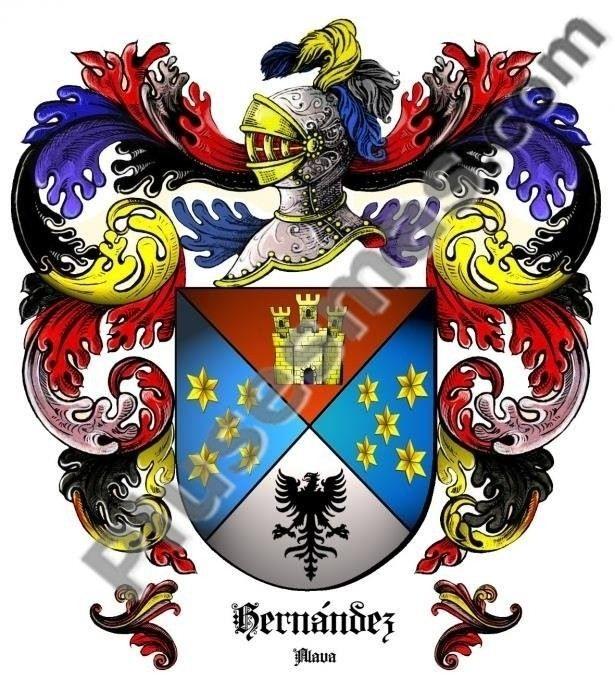 Escudo del apellido Hernández (Alava)