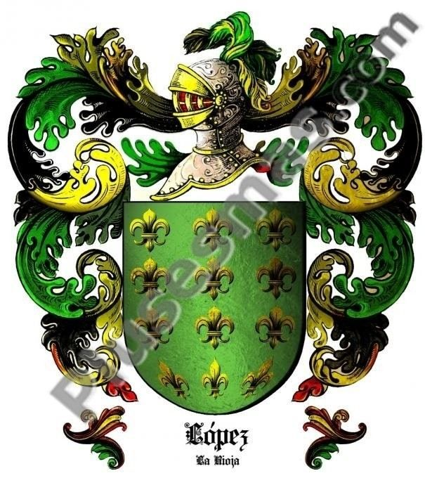 Escudo del apellido López (La Rioja)