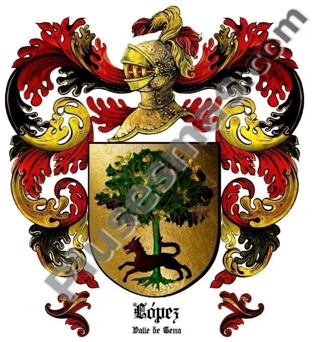 Escudo del apellido López (Valle de Tena)