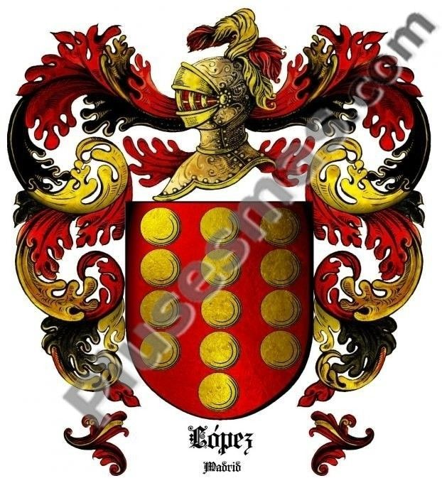 Escudo del apellido López (Madrid)