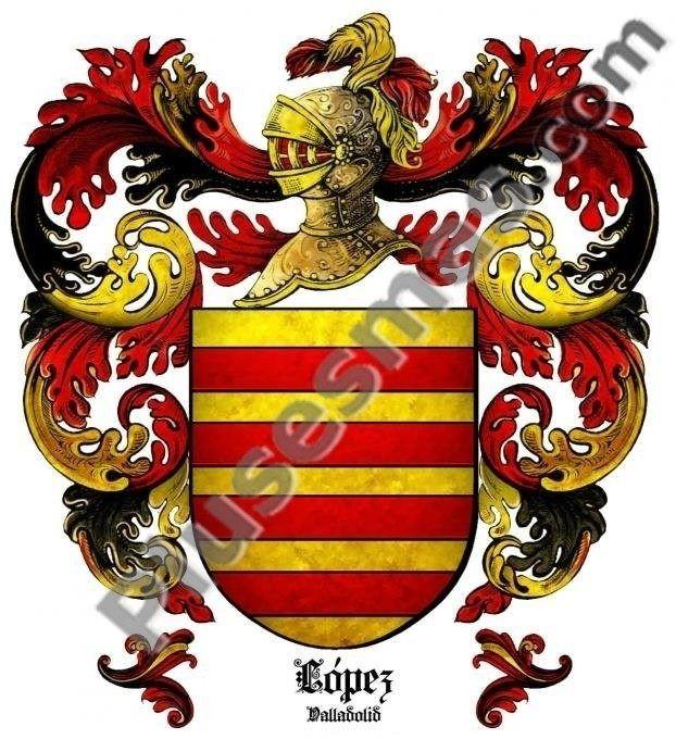 Escudo del apellido López (Valladolid)