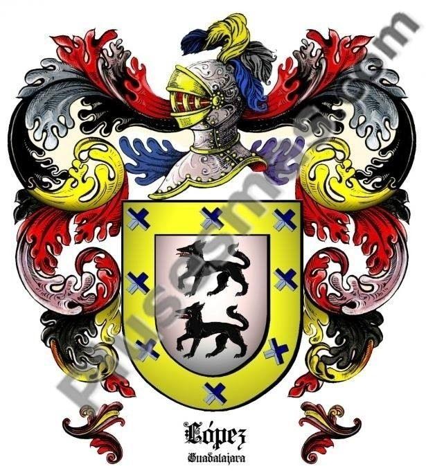 Escudo del apellido López (Guadalajara)