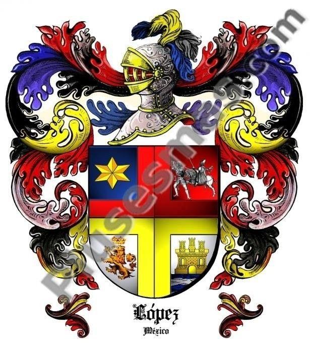 Escudo del apellido López (México)