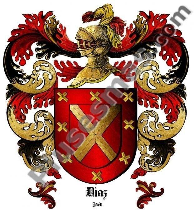 Escudo del apellido Díaz
