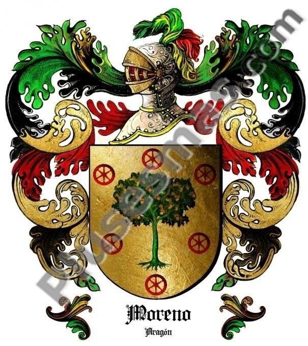 Escudo del apellido Moreno