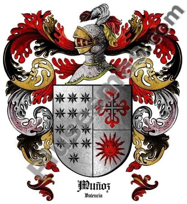Escudo del apellido Muñoz (Valencia)