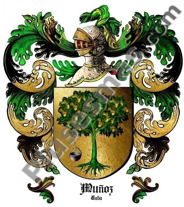 Escudo del apellido Muñoz (Cuba)