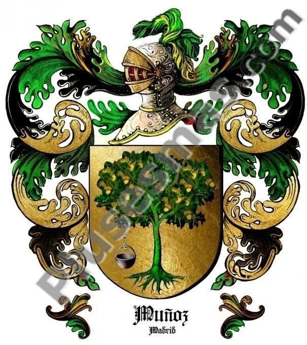 Escudo del apellido Muñoz (Madrid)