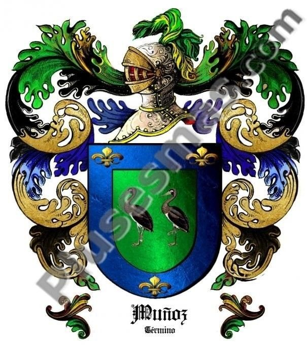 Escudo del apellido Muñoz (Término)