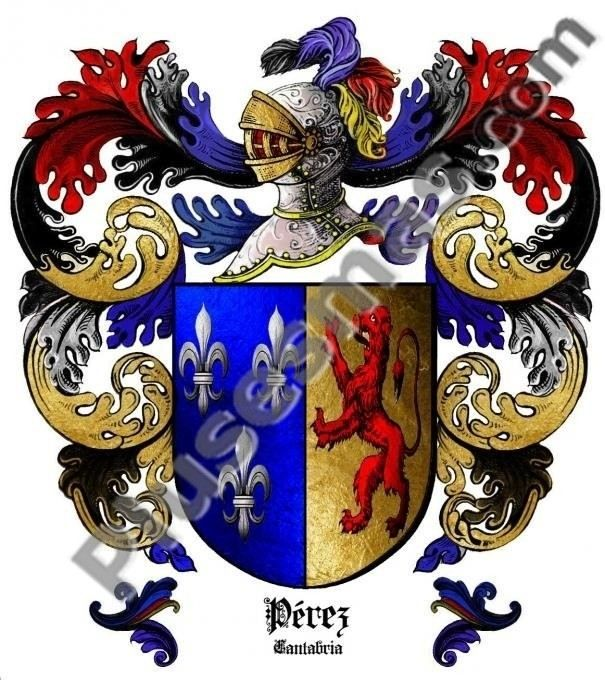 Escudo del apellido Pérez