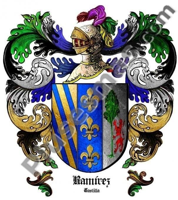 Escudo del apellido Ramírez (Castilla)