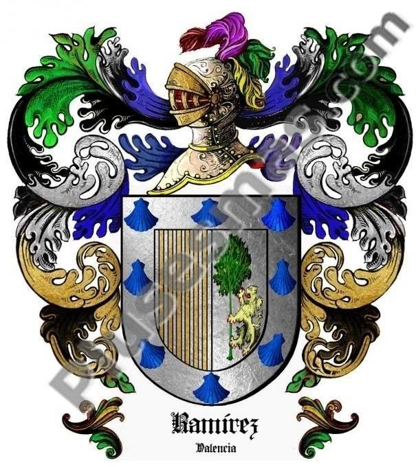 Escudo del apellido Ramírez (Valencia)