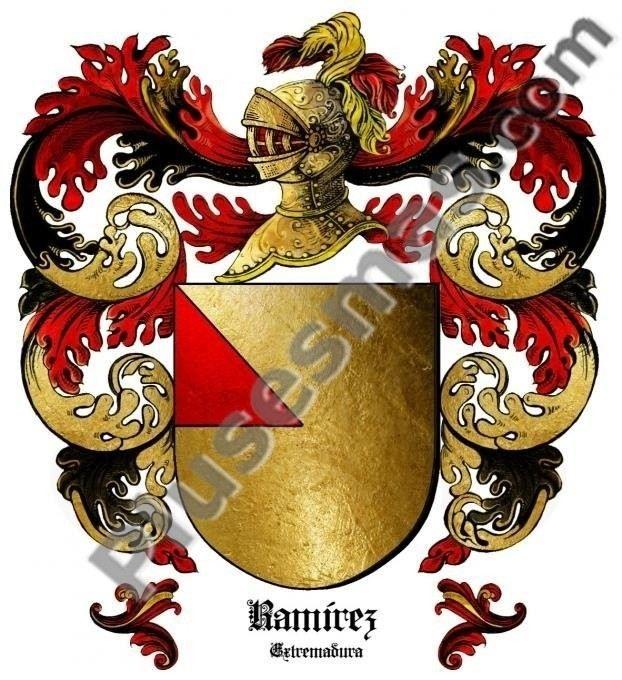 Escudo del apellido Ramírez (Extremadura)