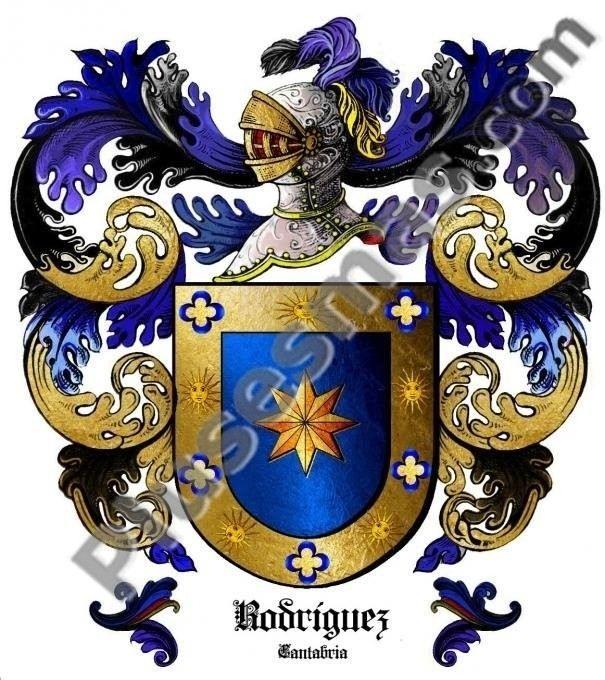 Escudo del apellido Rodríguez (Cantabria)