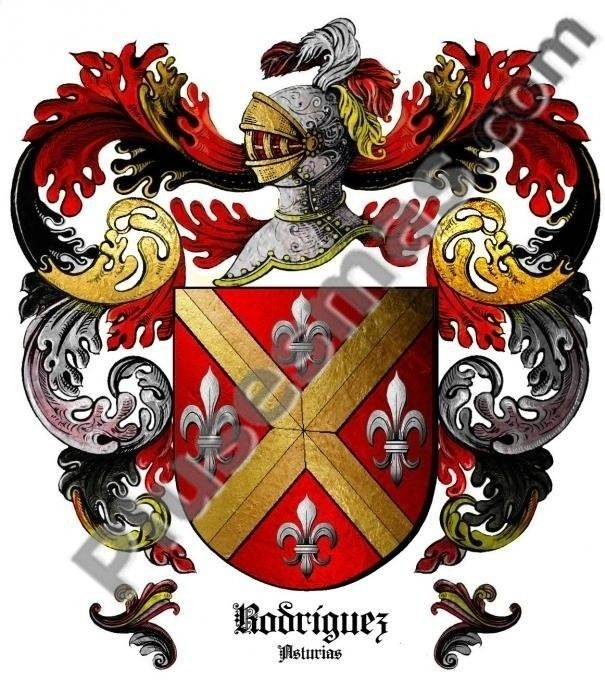 Escudo del apellido Rodríguez (Asturias)