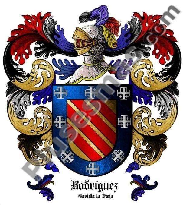 Escudo del apellido Rodríguez (Castilla la Vieja)