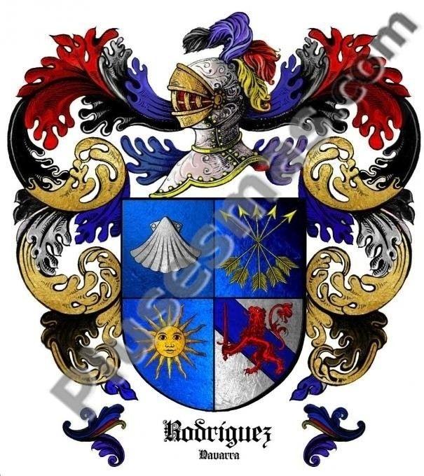 Escudo del apellido Rodríguez (Navarra)