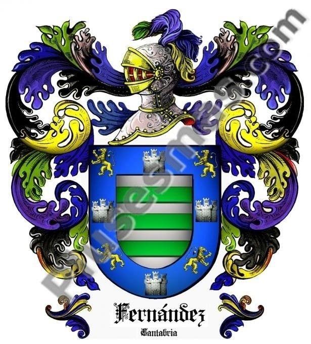 Escudo del apellido Fernández
