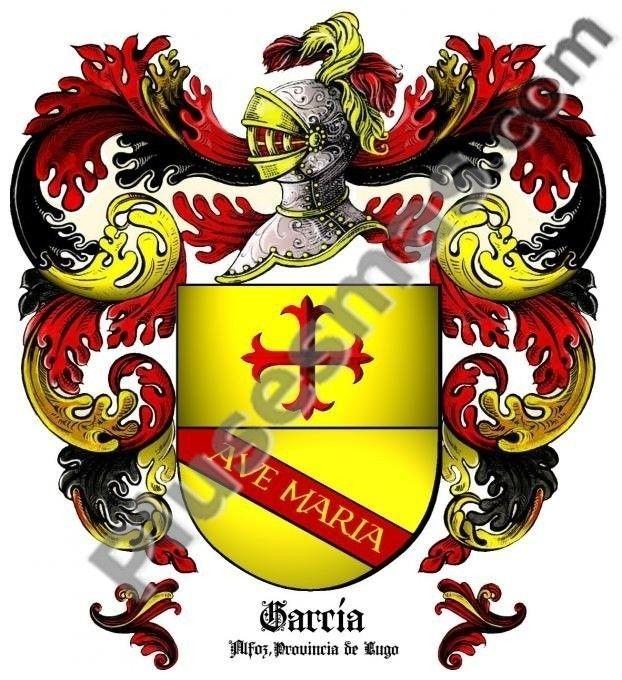 Escudo del apellido García