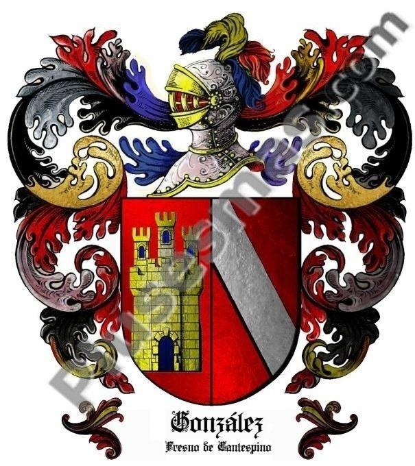 Escudo del apellido González (Fresno de Canterpino)