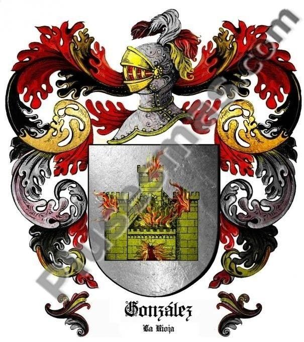 Escudo del apellido González (La Rioja)